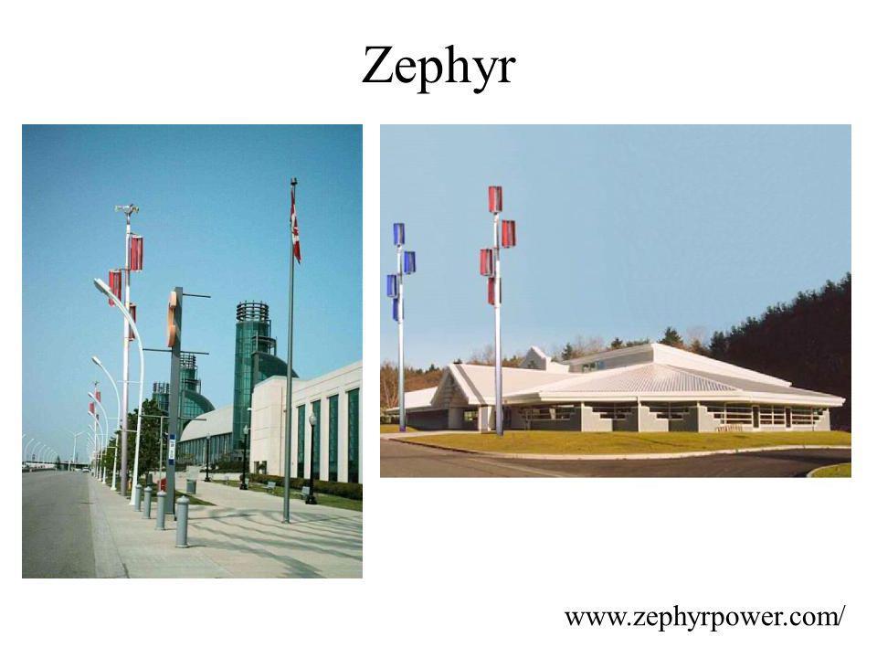 Zephyr www.zephyrpower.com/