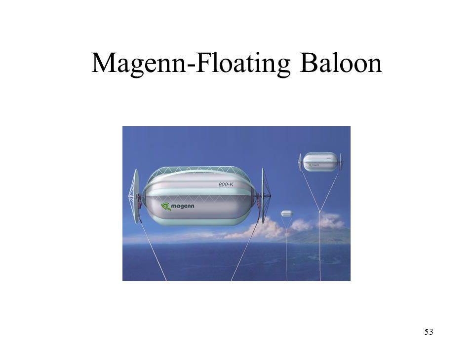 Magenn-Floating Baloon 53