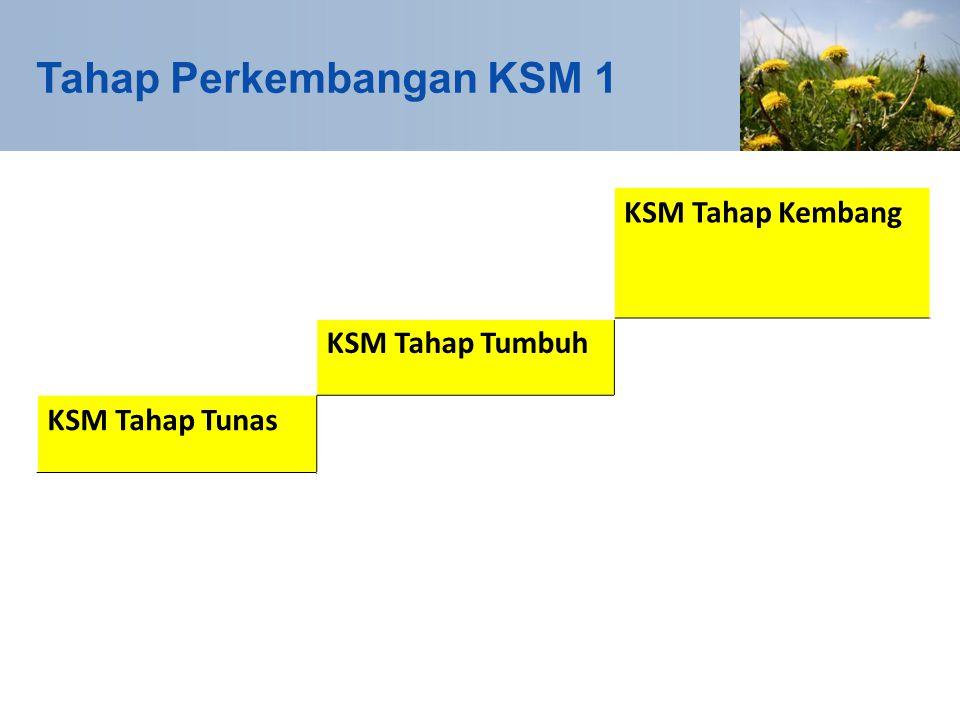 Tahapan Perkembangan KSM 2 Kegiatan KSM dalam PNPM Perkotaan dapat terdiri dari kegiatan tridaya, yaitu infrastruktur, ekonomi, dan/atau sosial.