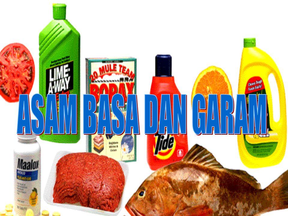 GARAM NaCl (natrium Klorida) adalah jenis garam yang sering kita kenal dengan garam dapur, dengan rasa asin.