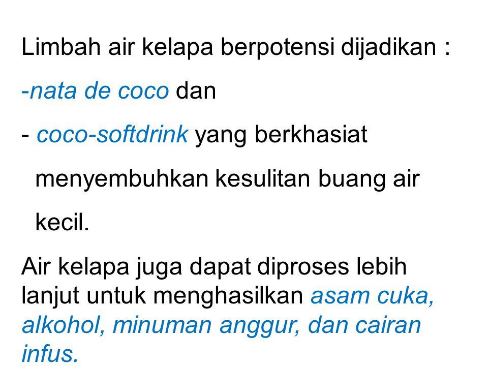 Contoh 3. pemanfaatan limbah air kelapa