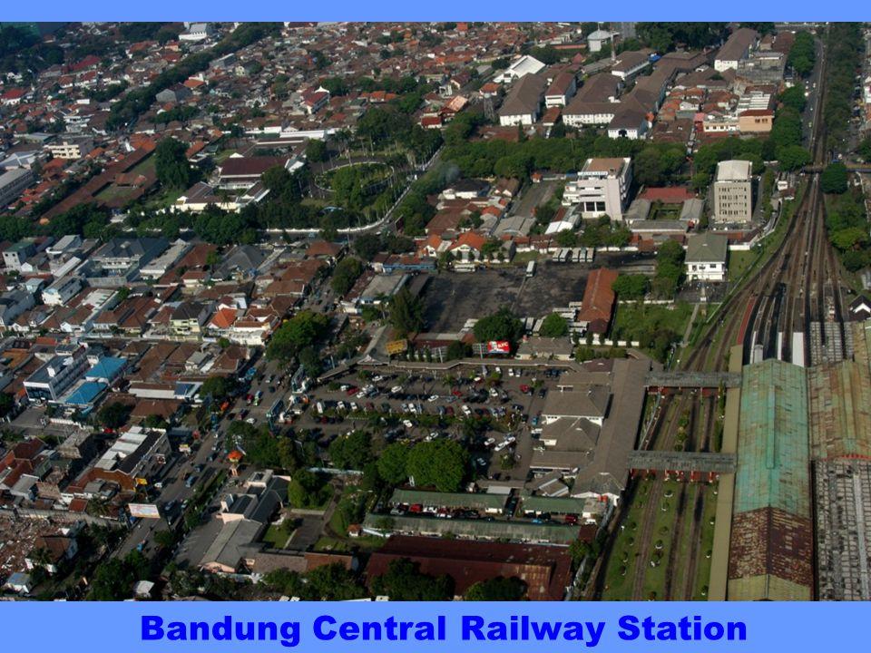 VIADUCT Banceuy Cikapundung VIADUCT Cikapundung River Bandung Railway Jalan Merdeka Jalan Braga Jalan Lembong St Petrus Cathedral Jalan Gereja