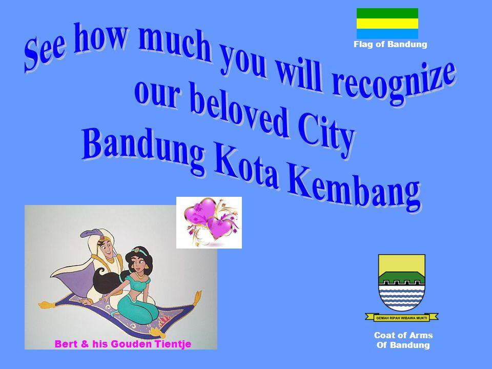 Flag of Bandung Coat of Arms Of Bandung Bert & his Gouden Tientje