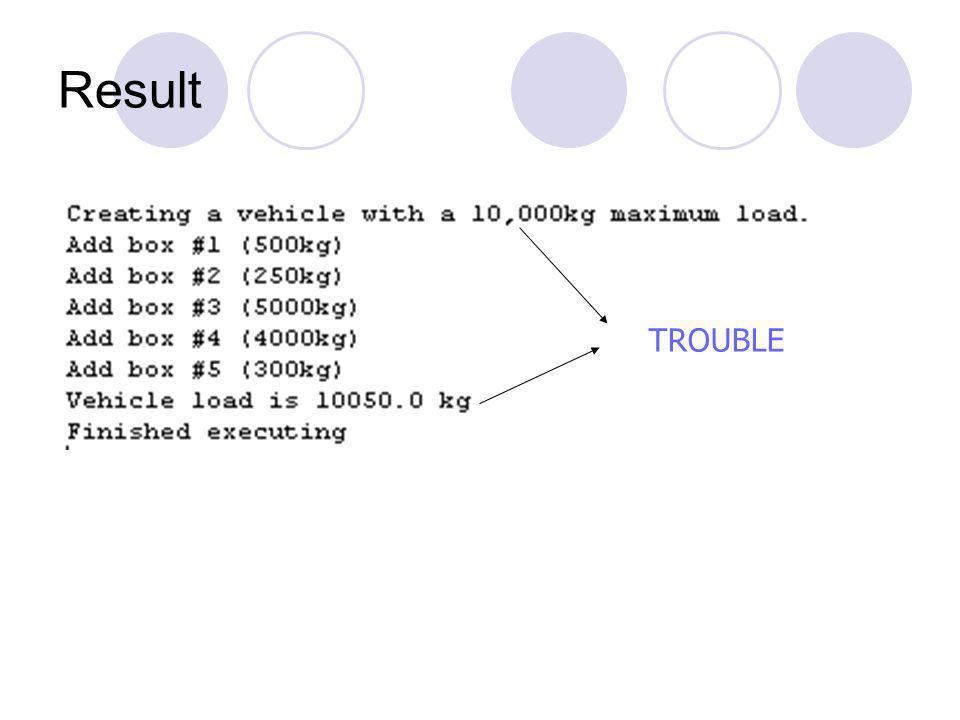 Dengan informasi hindding Gambar 2 UML class diagram of vehicle with information hiding