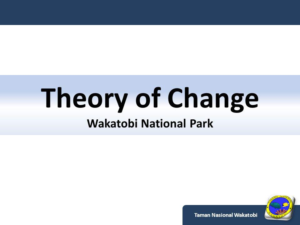 Theory of Change Wakatobi National Park Taman Nasional Wakatobi