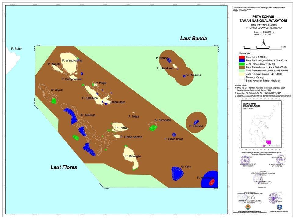 CR -Conservation Results: Wilayah perlidungan laut yang lebih efektif dengan wilayah larang ambil yang berfungsi dengan baik Taman Nasional Wakatobi