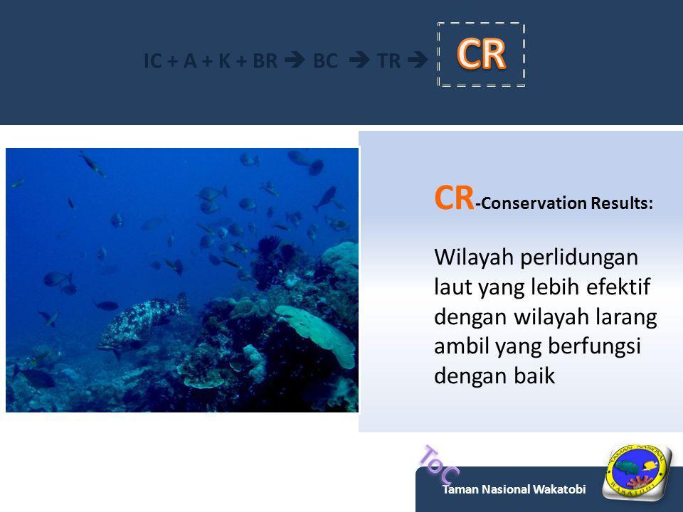 IC -Interpersonal Communication Manfaat kawasan pelestarian alam perairan dan wilayah larang tangkap, serta pengelolaan perikanan berbasis masyarakat lokal Taman Nasional Wakatobi