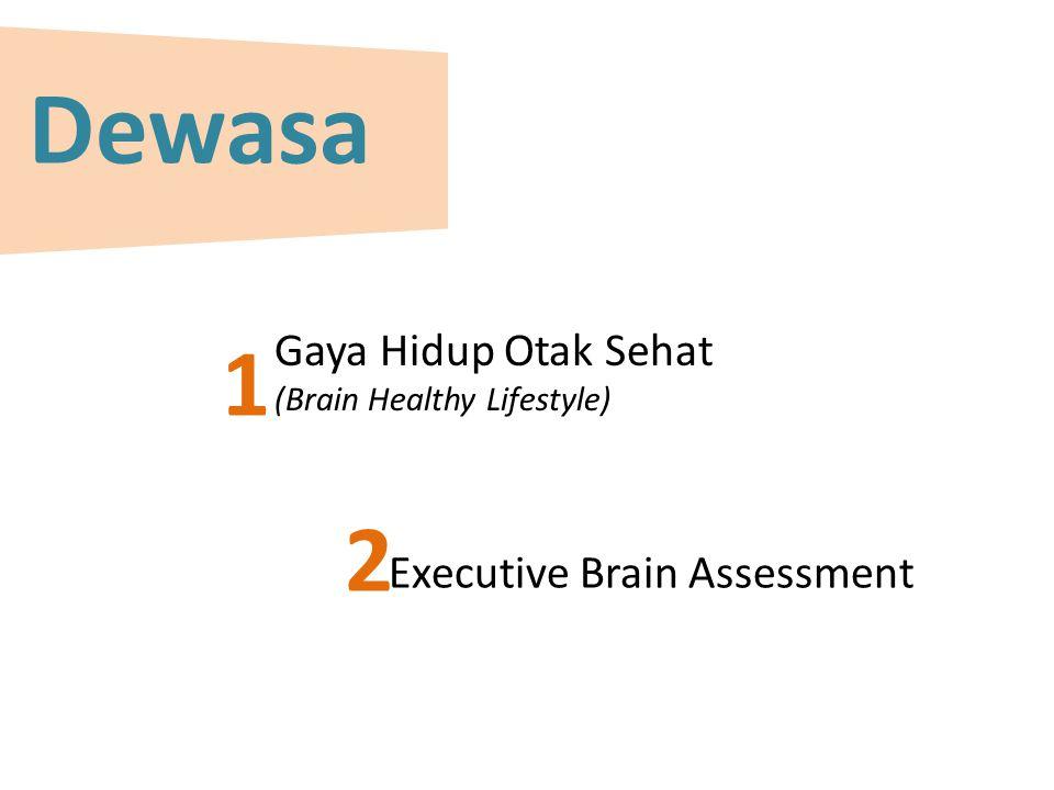 Dewasa Gaya Hidup Otak Sehat (Brain Healthy Lifestyle) Executive Brain Assessment 1 2