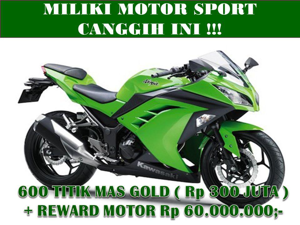 MILIKI MOTOR SPORT CANGGIH INI !!!