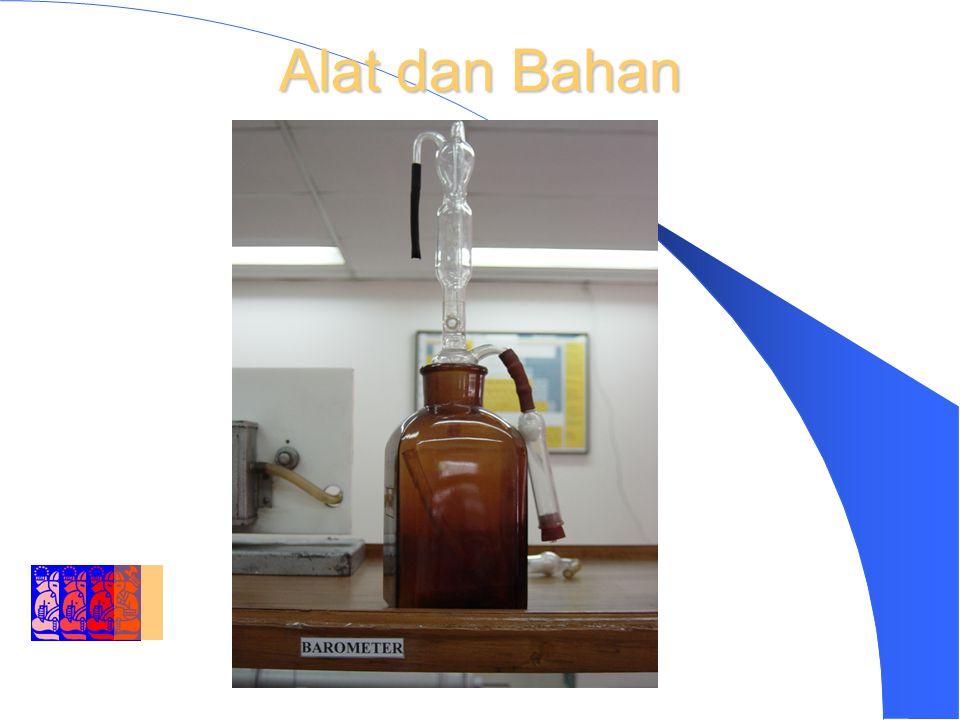 DEPARTMENT OF ENVIRONMENTAL ENGINEERING INSTITUT TEKNOLOGI BANDUNG Reagen Larutan Barit (campuran dlm 1 L Aquades dari) – Barium Hidroksida, Ba (OH)2……….3.5 g – Barium Clorida, BaCl2 ……………….6,5 g – Phenolphtalein ……………………….0.1 g Larutan Asam Oksalat – Larutkan 1,4158 g asam oksalat kristal kedalam 1 L aquades.