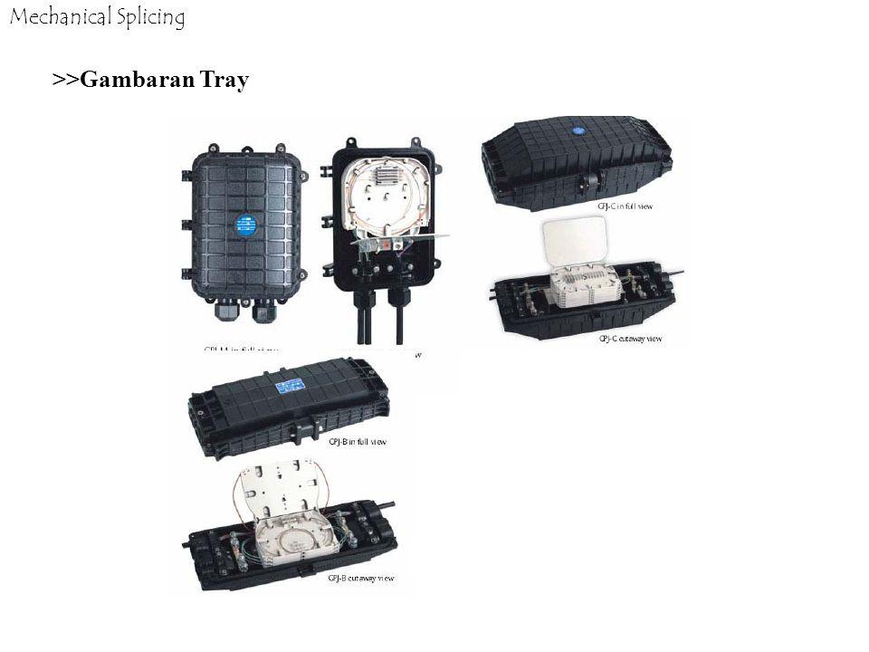 Mechanical Splicing >>Gambaran Tray