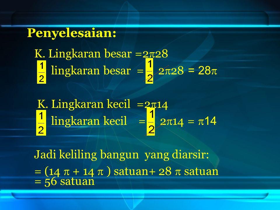 3) Volume Tabung volume tabung = luas alas × tinggi.