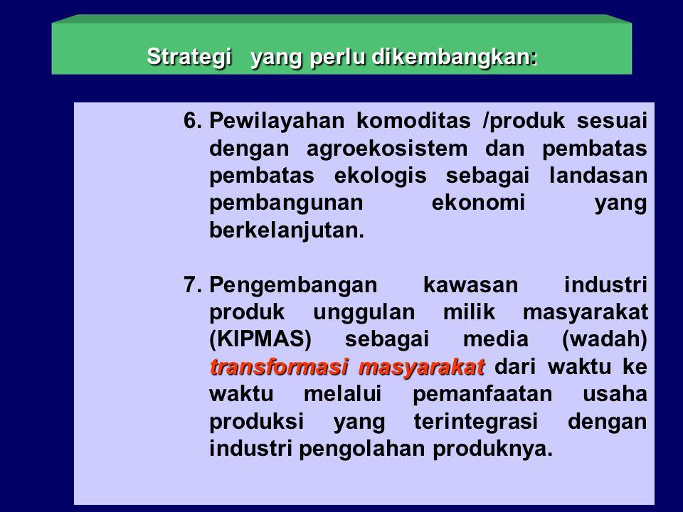 Strategi yang perlu dikembangkan: nilai tambah 4. Penerapan prinsip-prinsip efisiensi dan kreasi nilai tambah dalam setiap keputusan dan tindakan. net