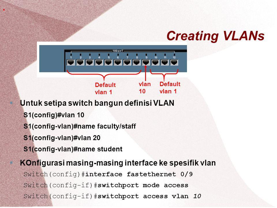 InterVLAN Routing Pada switch vtp client
