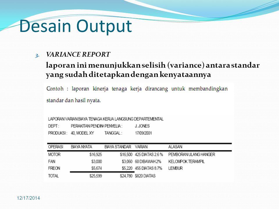 Desain Output 3.
