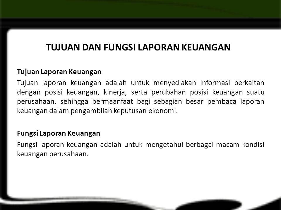 KUALITAS INFORMASI AKUNTANSI 1.Dapat Dipahami (Understandability).