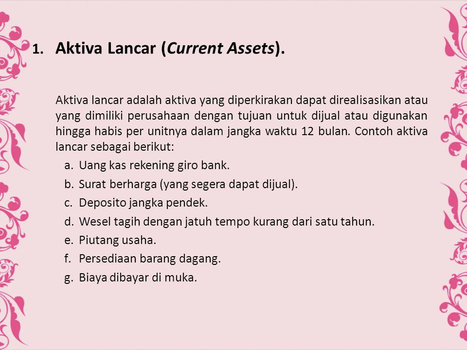  Prinsip-Prinsip Dasar Akuntansi.