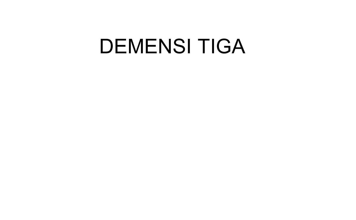 DEMENSI TIGA