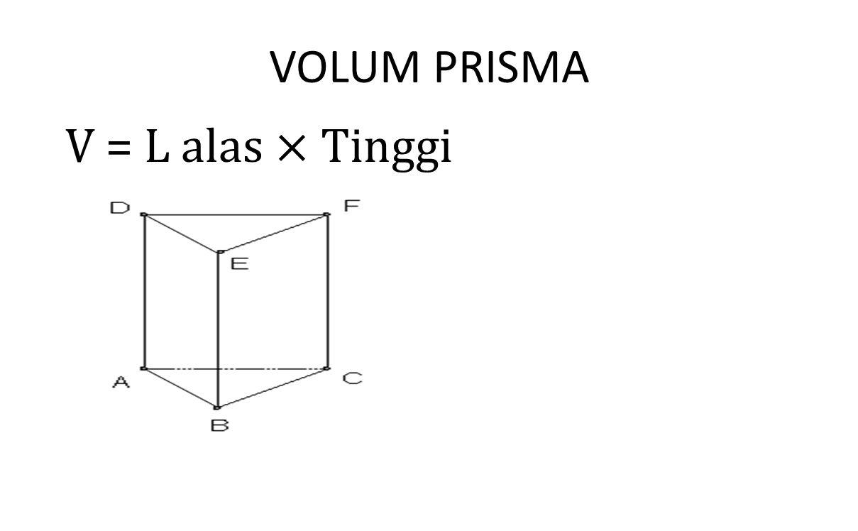 VOLUM PRISMA
