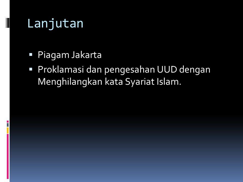 Dinamika Ketatanegaraan Indonesia Masa berlakunya UUD 1945 (Maklumat wapres no.