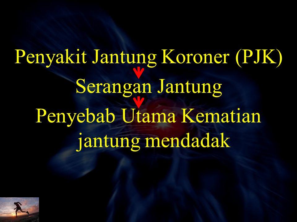Penyakit Jantung Koroner Di Indonesia Rata-rata usia pasien serangan jantung di Indonesia lebih muda dibandingkan Amerika dan Eropa 1,2 40% pasien yan