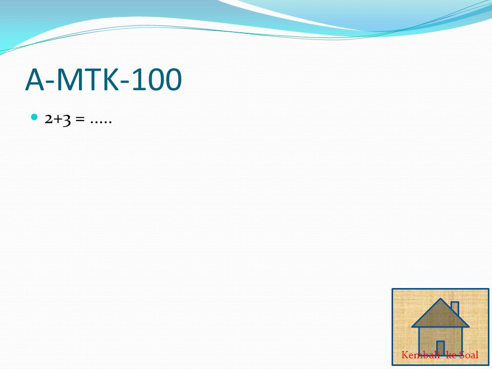 Q-PKN-100 Luber Jurdil JAWABAN
