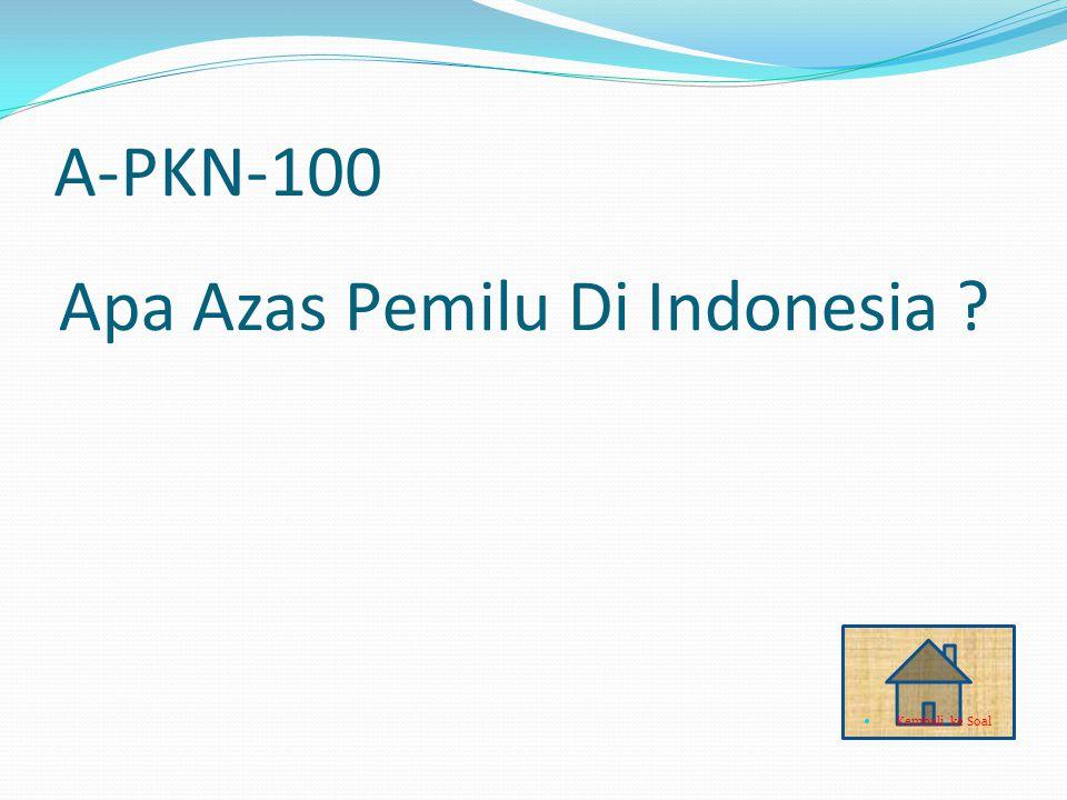 Q-IPA-100 Mimikri JAWABAN