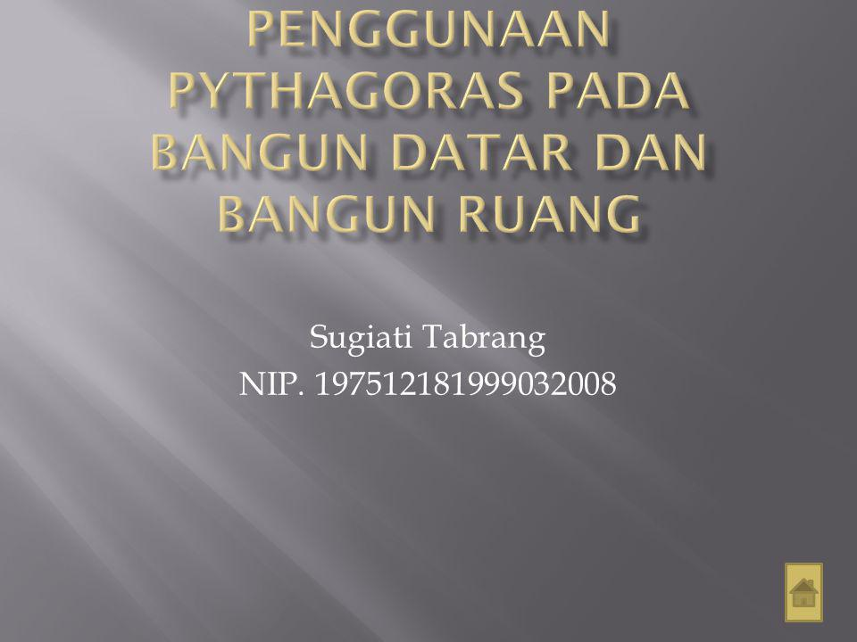 Sugiati Tabrang NIP. 197512181999032008