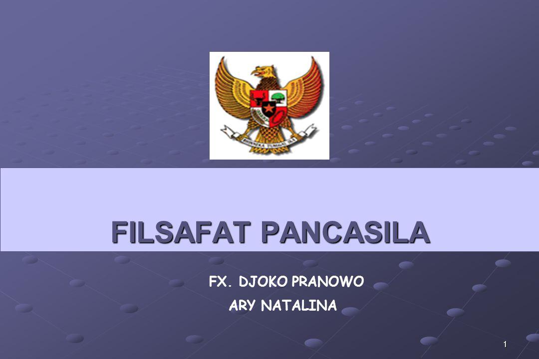 12  Membahas Pancasila sebagai filsafat berarti mengungkapkan konsep-konsep kebenaran Pancasila yang bukan saja ditujukan pada bangsa Indonesia, melainkan juga bagi manusia pada umumnya.