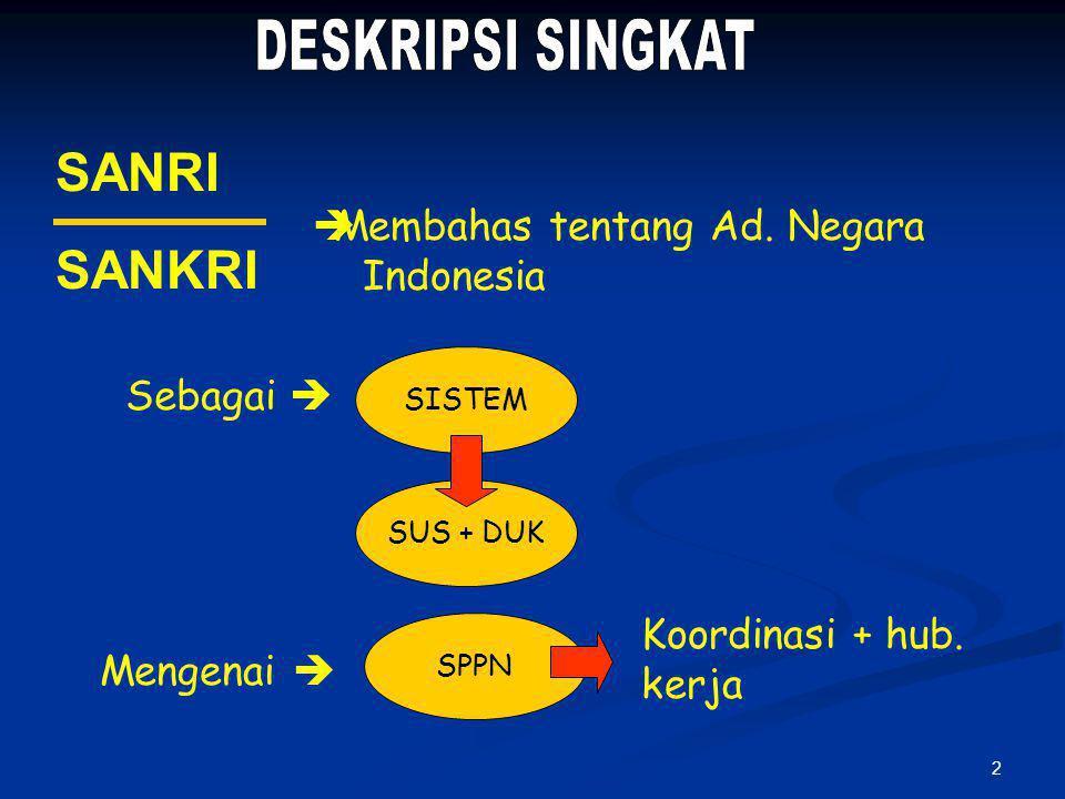 22 MPR Pasal 2 (1) **** ANGGOTA DPR dipilih melalui pemilu ANGGOTA DPD dipilih melalui pemilu 1.