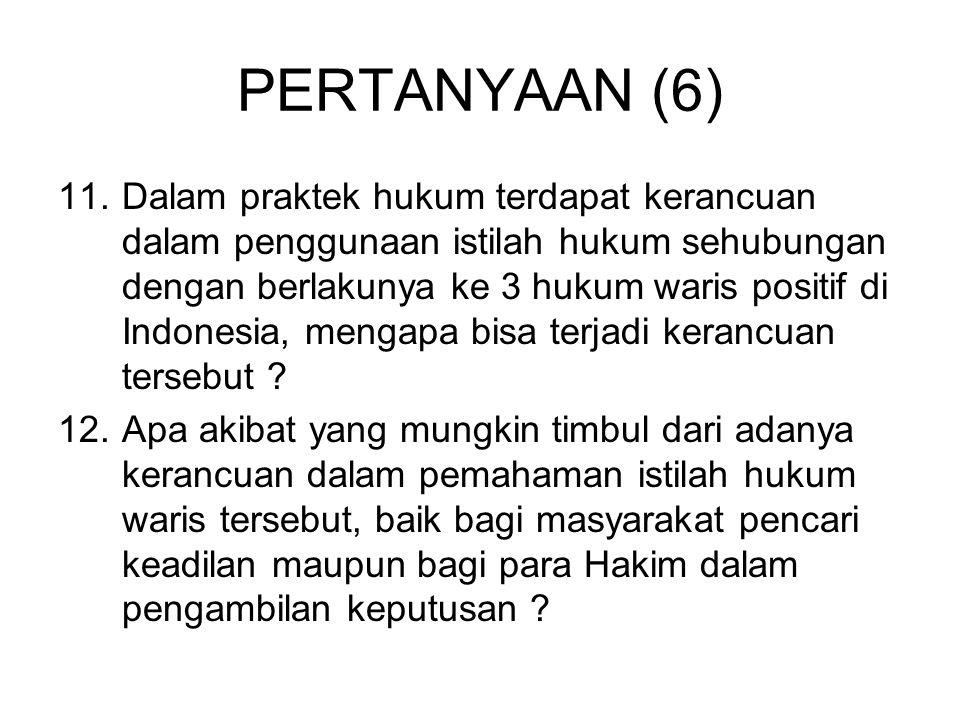 PERTANYAAN (7) 13.
