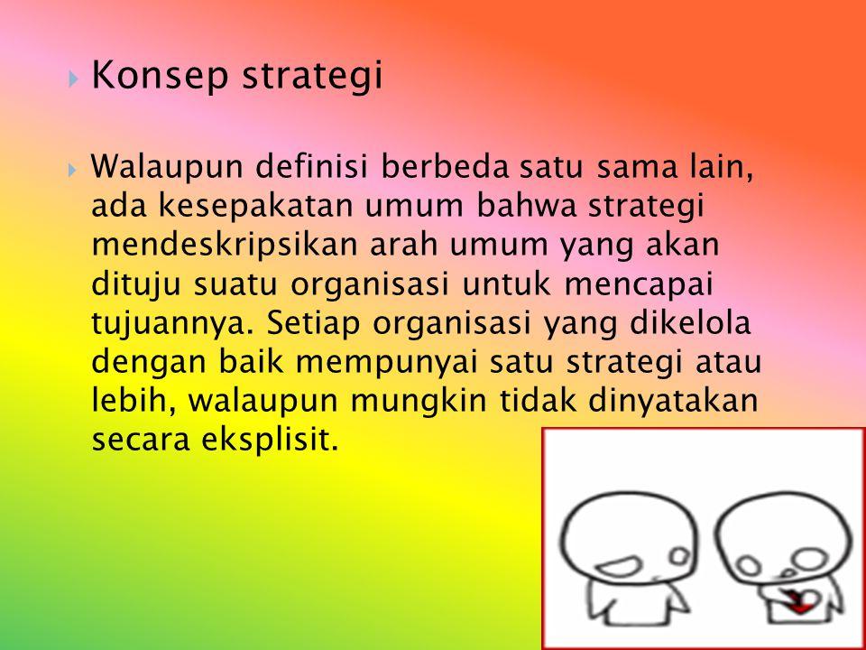 Strategi Tingkat Korporat Strategi korporat adalah mengenai keberadaan di tengah-tengah bauran bisnis yang tepat.
