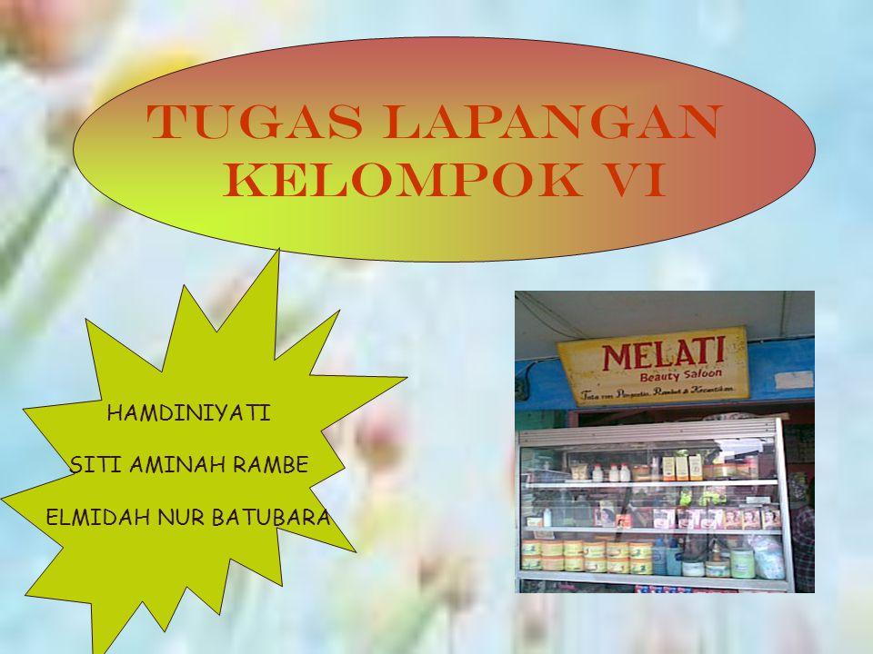 Salon Melati berdiri sejak tahun 1993 berlokasi dijalan letda sujono No 10 Medan, tepat didepan swalayan karunia disamping rumah makan padang.