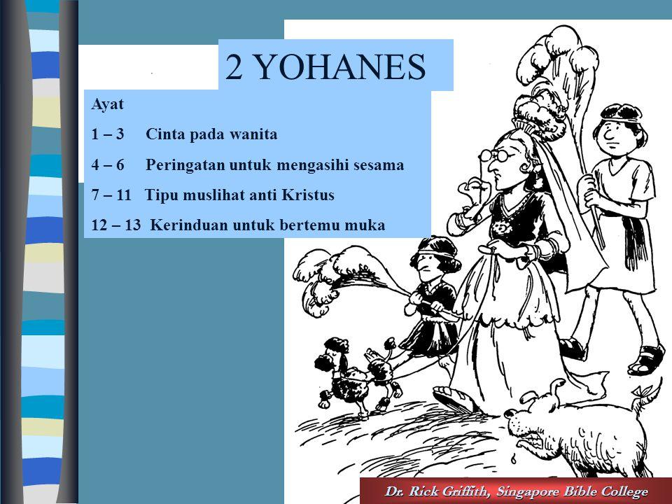 Acrostic Bible – 2 John Dr.