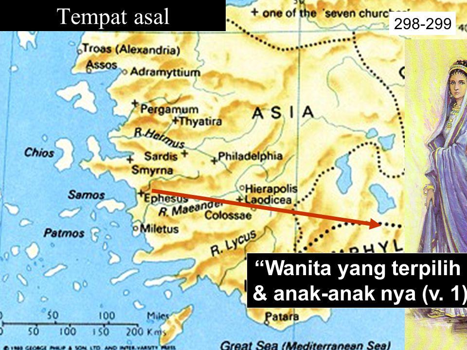 Tempat asal 298-299 Wanita yang terpilih & anak-anak nya (v. 1)