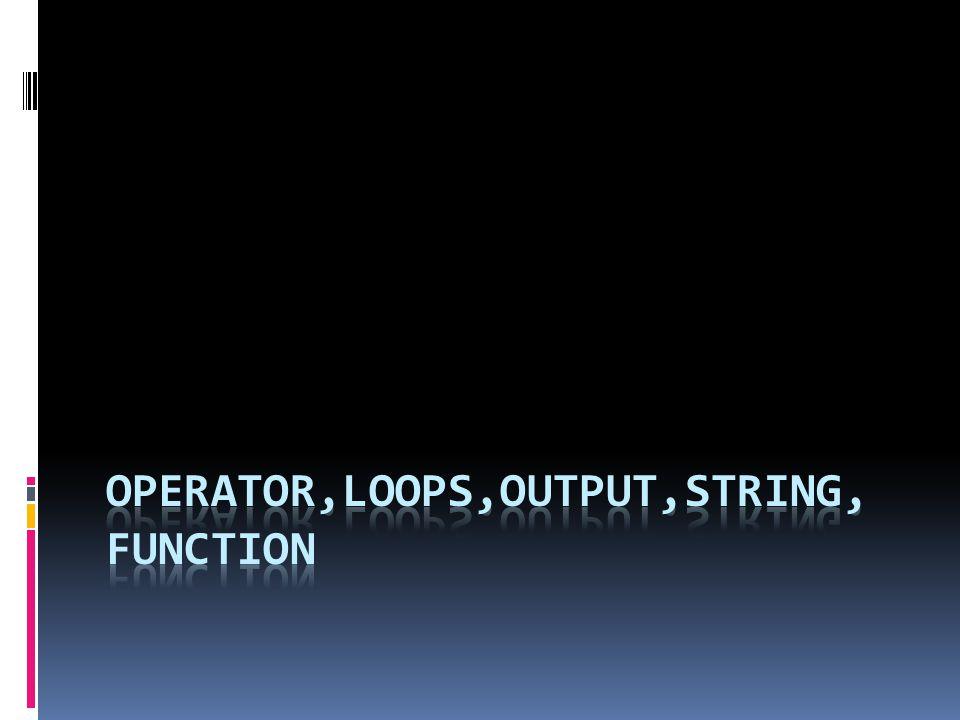 <?php echo strlen( 12345 ), ; $words=split( , This is a test ); for($i=0;$words[$i];$i++) echo $words[$i], ; $result=sprintf( 8x5 = %d ,8*5); echo $result, ; echo substr ( Amati karakter yang mana ,9,3), ; if (chop( String \n\n ) == String ) echo Equals ; echo strpos( Mencari kata inside pada baris keberapa , inside ), ; echo str_replace( hijau , merah , Seekor iklan hijau seperti rumput hijau ), ; ?> Coba jalankan dan lihat hasilnya!