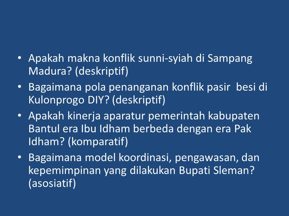 Apakah makna konflik sunni-syiah di Sampang Madura.