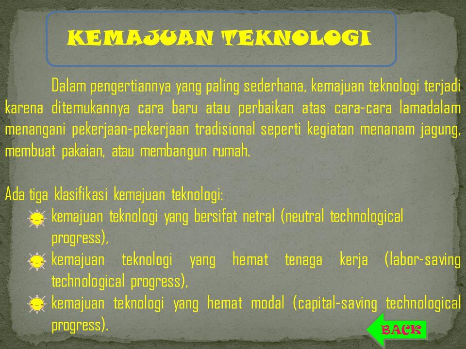 Faktor Penentu yang Mempengaruhi Pertumbuhan Ekonomi Faktor penentu bagi pertumbuhan suatu banga terutama Indonesia adalah: Konsumsi Investasi Pengeluaran pemerintah Eksport-inport MENU