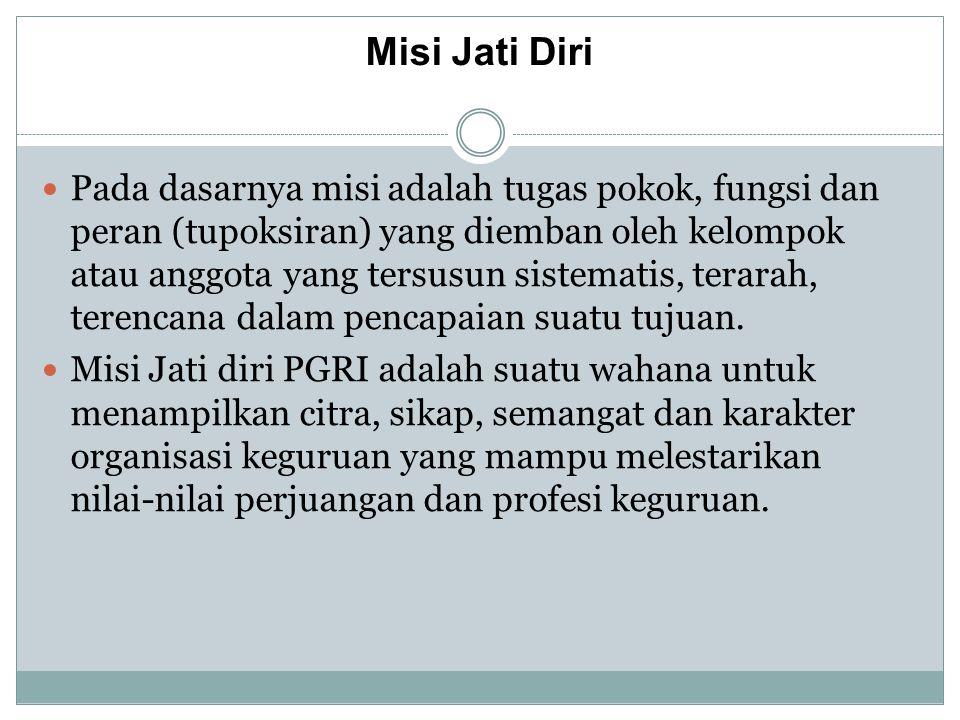 Sistem Informasi PGRI PB PGRI PGRI Provinsi PGRI Kabupaten/Kota Pimpinan Cabang Kecamatan Pimpinan Ranting Sekolah