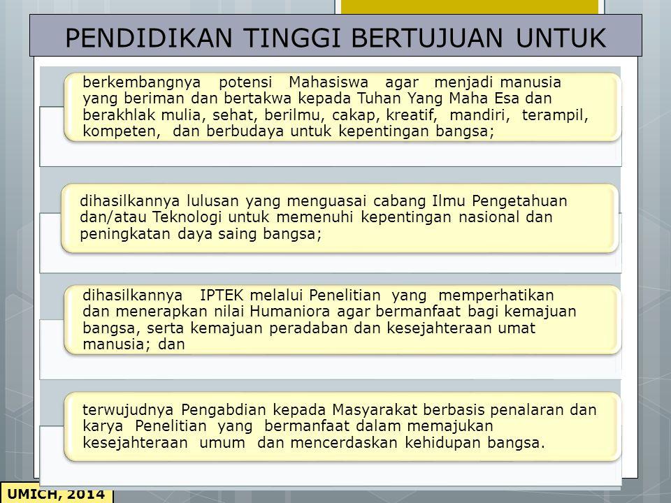 UMICH, 2014  UUD Negara Republik Indonesia Tahun 1945.  UU No. 20 Tahun 2003 tentang Sistem Pendidikan Nasional.  UU Nomor 14 Tahun 2005 tentang Gu