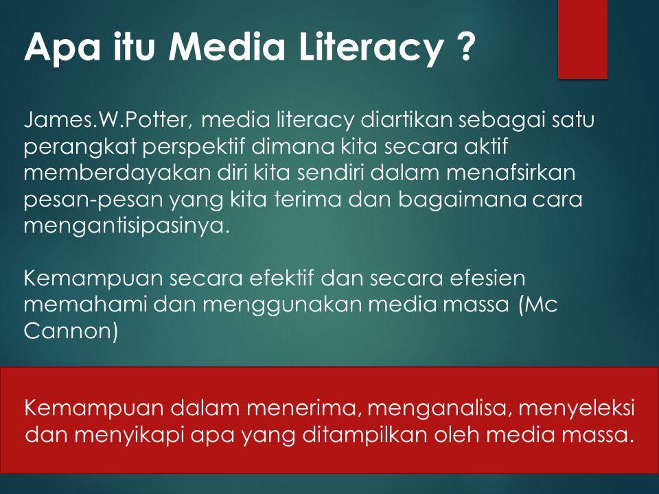 Apa itu Media Literacy .