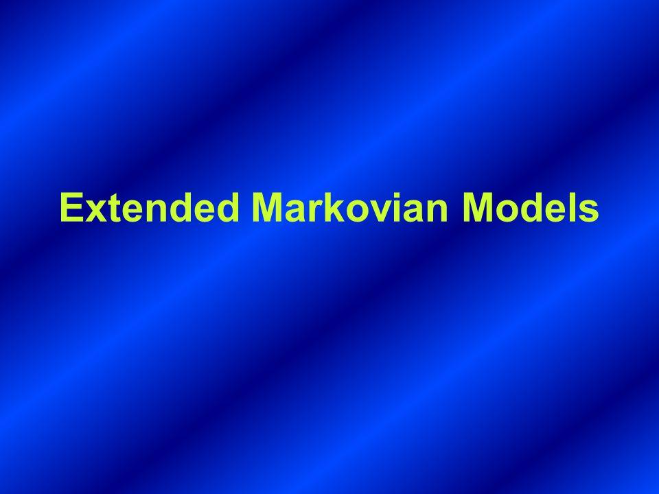 Extended Markovian Models