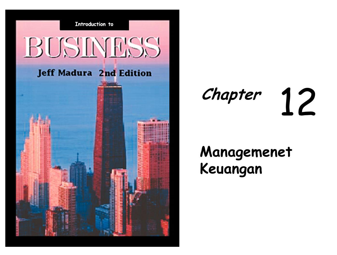 Introduction to Chapter 1212 Managemenet Keuangan