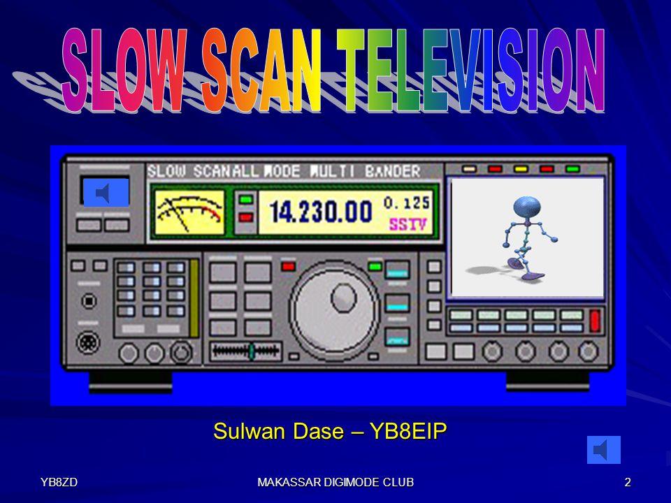 YB8ZD MAKASSAR DIGIMODE CLUB 12 Slow Scan Television