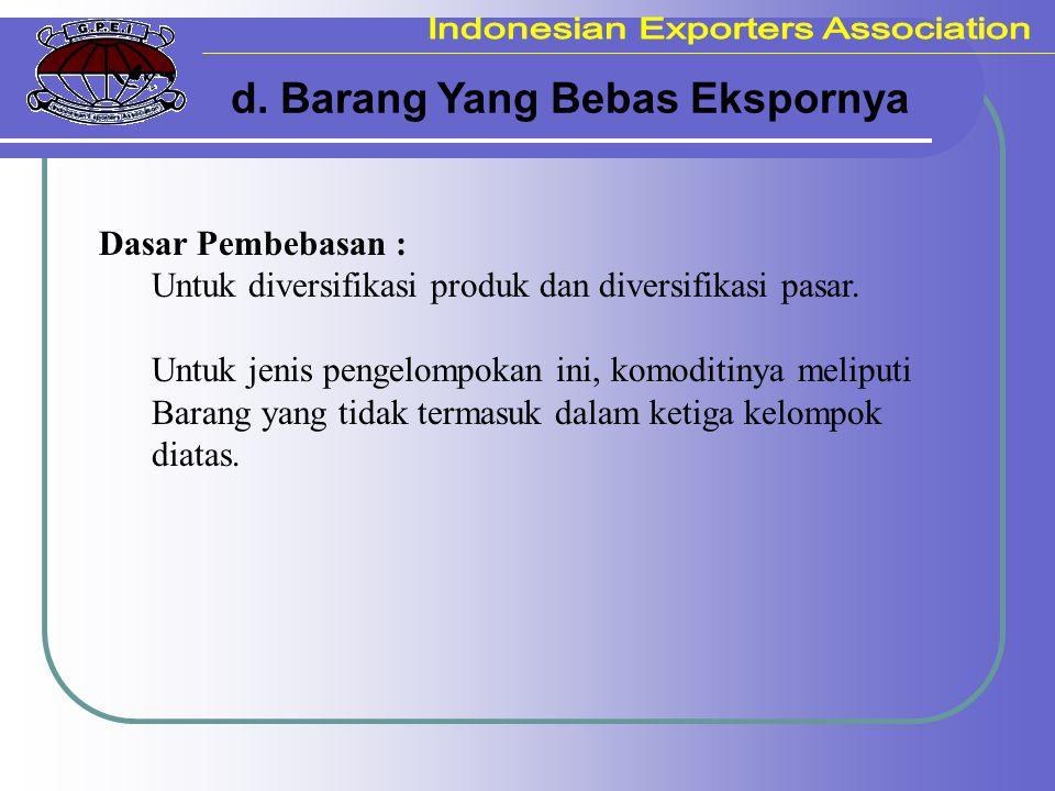 Jenis-jenis SKA Non Preferensi : - ICO Certificate of Origin.