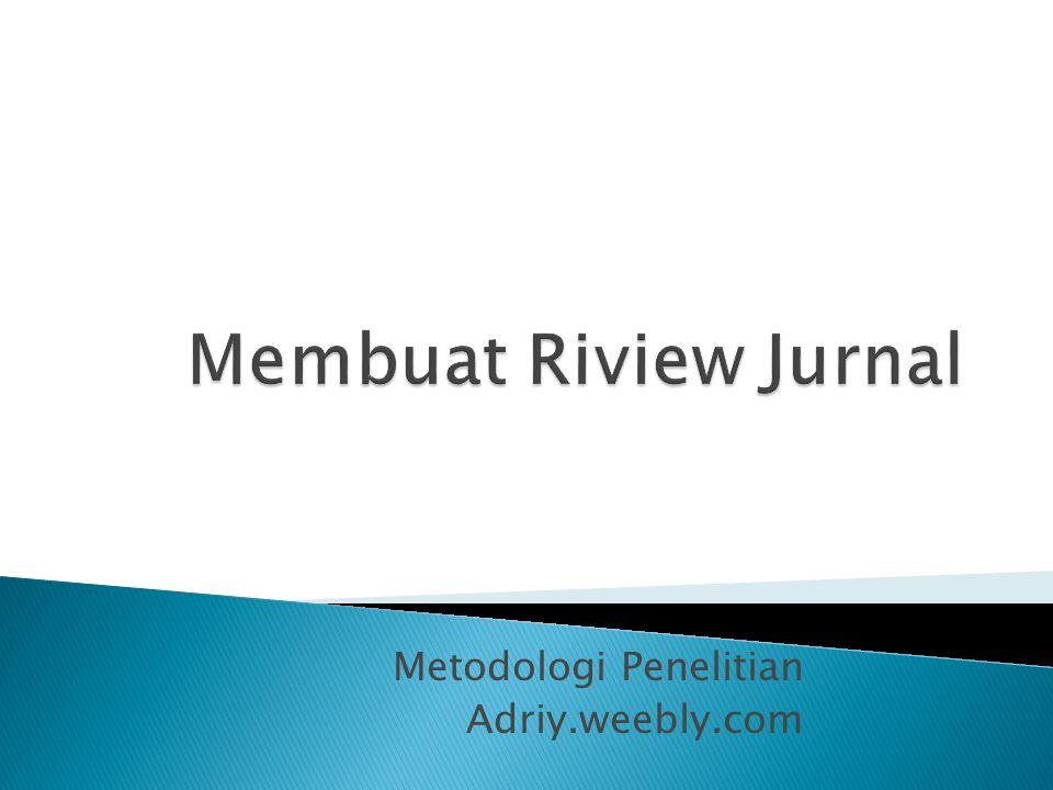Metodologi Penelitian Adriy.weebly.com