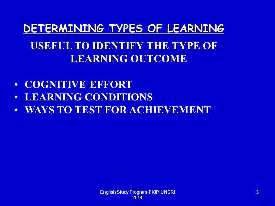 14 CHARACTERISTICS OF INSTRUMENTS ► Criterion-referenced : validity, reliability, practicality Five C's: Five C's: Congruence (sesuai), Completeness(sempurna), Consistency (konsisten), Confidence (keyakinan), Congruence (sesuai), Completeness(sempurna), Consistency (konsisten), Confidence (keyakinan), Cost (biaya ) Cost (biaya ) English Study Program-FKIP-UNSRI 2014
