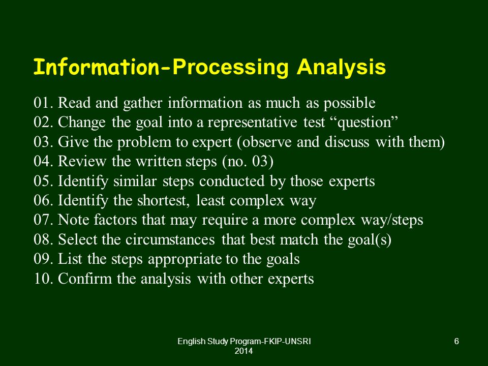 17 PRACTICALITY Consider the time in processing the assessment, human resource conducting the test, time between administration of the test and when scores must be reported English Study Program-FKIP-UNSRI 2014