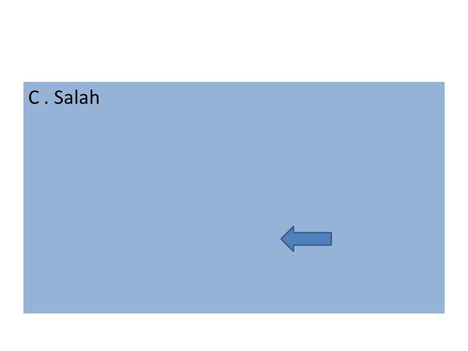C. Salah