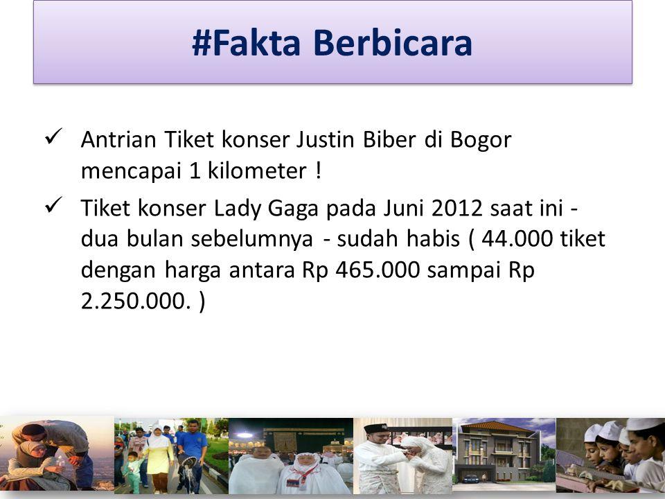 Antrian Tiket konser Justin Biber di Bogor mencapai 1 kilometer ! Tiket konser Lady Gaga pada Juni 2012 saat ini - dua bulan sebelumnya - sudah habis